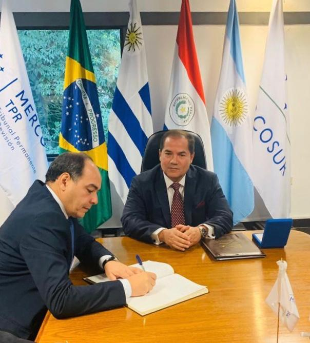 ASSUMPTION AS PRESIDENT OF THE PERMANENT REVIEW TRIBUNAL OF MERCOSUR